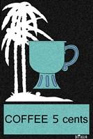 Coffee Palm Trees Fine Art Print