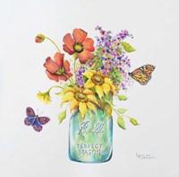 Butterfly Blossoms Fine Art Print
