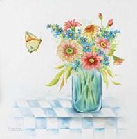 Butterfly Blues Fine Art Print