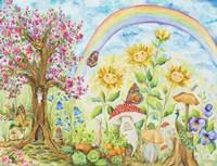 Somewhere Under the Rainbow Fine Art Print