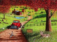 Autumn in Pleasant Valley Fine Art Print