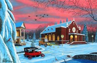 Christmas at St. Bernardines Fine Art Print