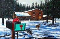 Christmas in Big Bear Fine Art Print