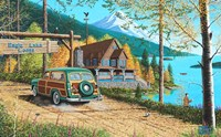 Eagle Lake Lodge Fine Art Print
