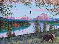 Teton Majesty Framed Print