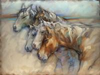 Five Horses Fine Art Print