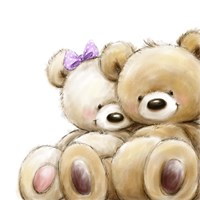 Teddy Couple Fine Art Print