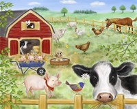 Farm Animals Fine Art Print