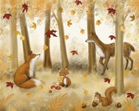 Autumn Scene Fine Art Print