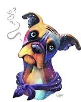 Pets- Boxer Face Fine Art Print