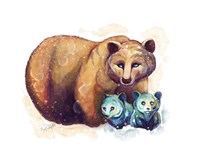 Woodlands- Mama Bear Fine Art Print
