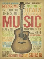 Music Is Fine Art Print