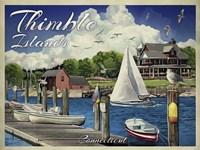Thimble Islands Conn Fine Art Print