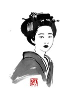 Geisha Starring Fine Art Print