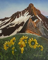 Mountain Flowers Fine Art Print