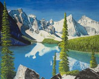Mountain Lake Fine Art Print