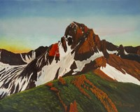 Mountain Red Rock Fine Art Print