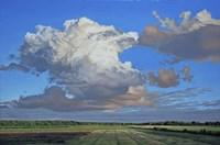 Prairie Clouds II Framed Print