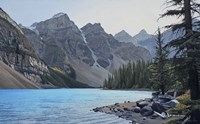 Valley of the Ten Peaks Fine Art Print