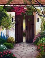 Spanish Gates Fine Art Print