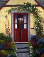 Welcoming Doors Fine Art Print