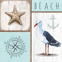 Nautical Beach Fine Art Print