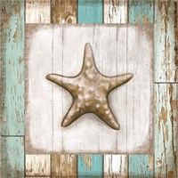 Starfish on Beach Fine Art Print