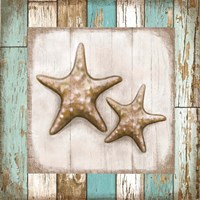 Two Starfish Fine Art Print