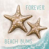 Forever Beach Bums Framed Print