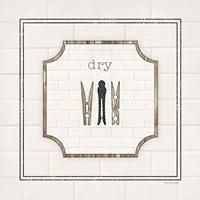 Dry Framed Print