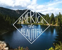 America the Beautiful Fine Art Print