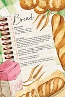 Bread Recipe Fine Art Print