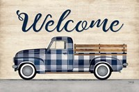 Welcome Truck Fine Art Print