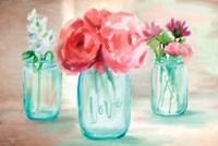 Floral Trio Fine Art Print