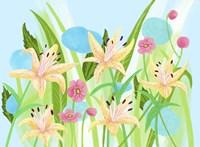 Yellow Lilies Fine Art Print