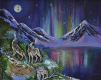 Mystical Wolves Fine Art Print