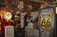 Route66 Interior Store Fine Art Print