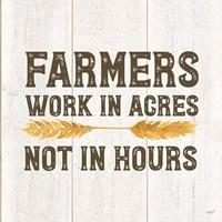 Farm Life VIII-Acres Framed Print