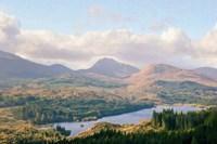 Overlook of the Loche Fine Art Print