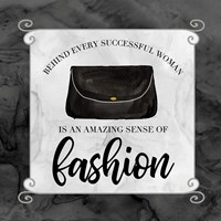 Fashion Humor IX-Sense of Fashion Fine Art Print