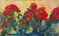 Flamboyant Poppies Fine Art Print