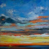 Hermosa Beach Sunset Fine Art Print