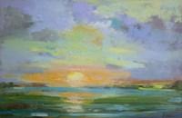 Sherbert Sunset Fine Art Print