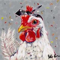 Farm Pop-Rosie Fine Art Print