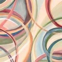 Overlapping Rings V Fine Art Print