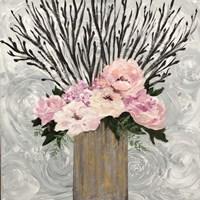 Twiggy Floral Arrangement Fine Art Print