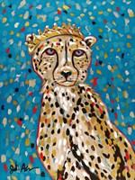 Queen Cheetah Fine Art Print