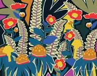Ferns and Wildflowers I Fine Art Print