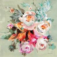 Windblown Blooms I Framed Print