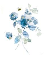 Blues of Summer III Gilded Framed Print